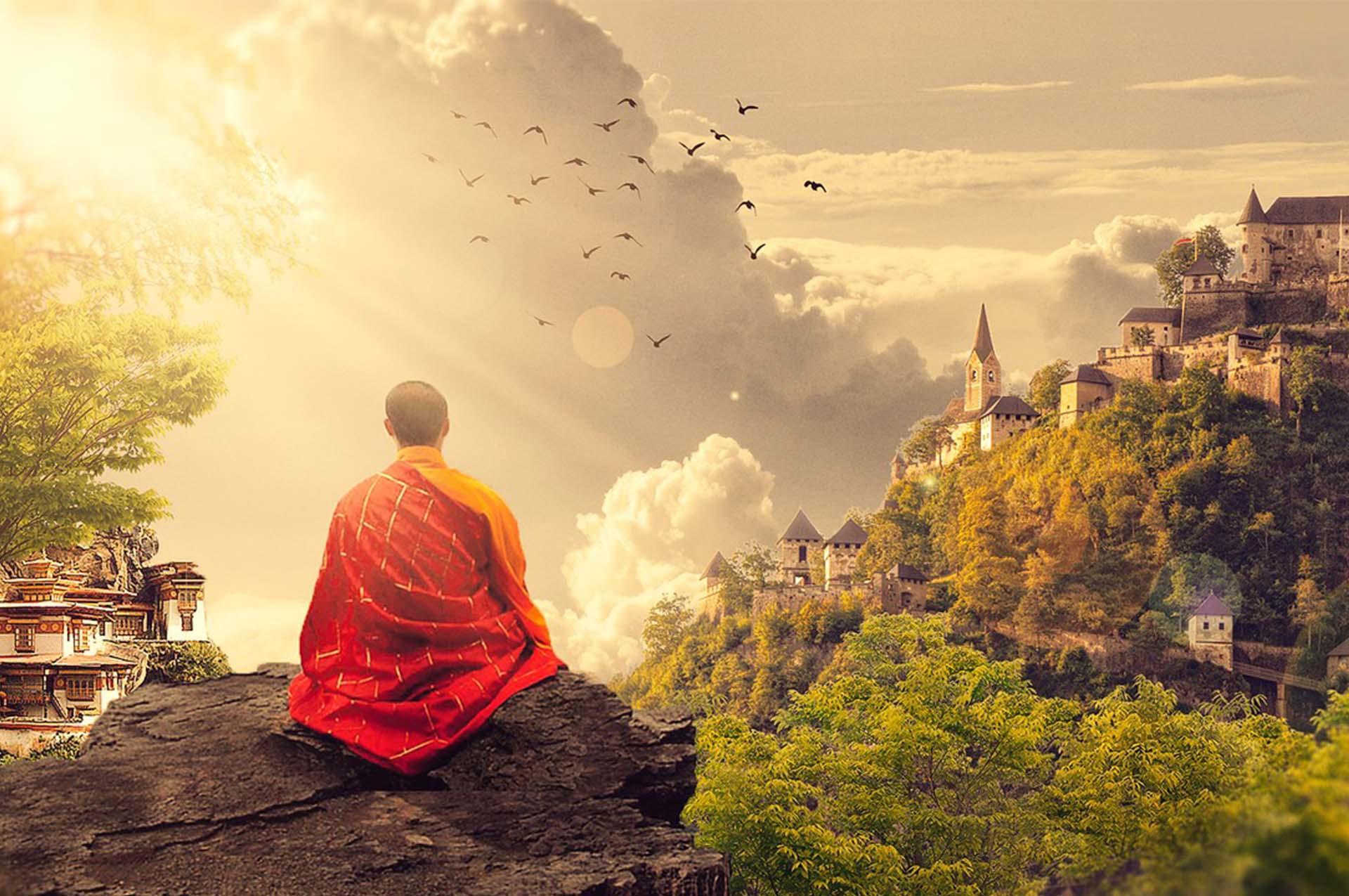 Mozek v příboji meditace